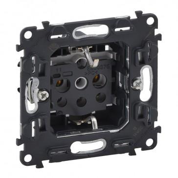 2P+E socket Valena In'Matic - screw terminals - German standard - 16 A 250 V~