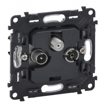 Terminal TV-R-SAT socket Valena In'Matic