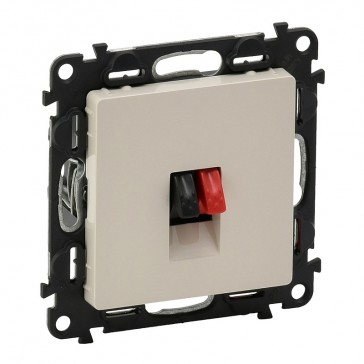 Loudspeaker socket Valena Life - with cover plate - ivory