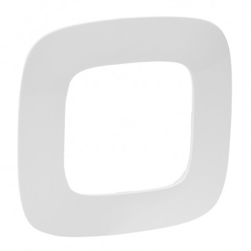 Plate Valena Allure - 1 gang - white