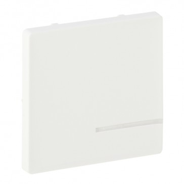 Cover plate for radio control lighting switch Valena Life - 1 circuit - white