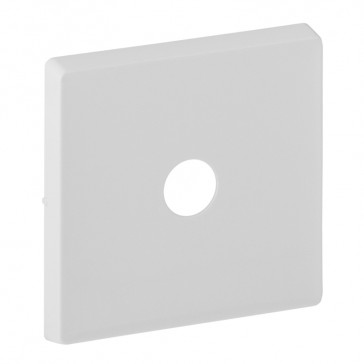Cover plate Valena Life - energy saving switch - white