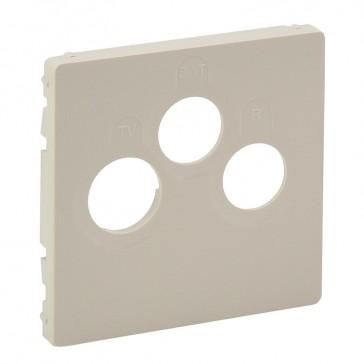 Cover plate Valena Life - TV-R-SAT socket - ivory
