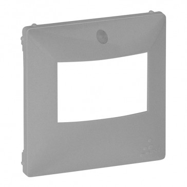 Cover plate Valena Life - motion sensor without override - aluminium