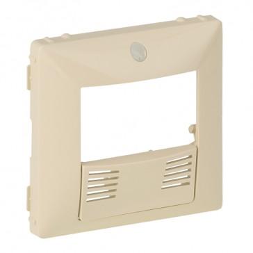 Cover plate Valena Life - dual technology presence sensor - ivory