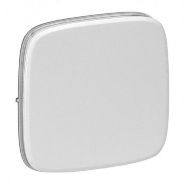 Cover plate Valena Allure - one/two-way switch or push-button - pearl