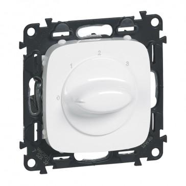 Ventilation control switch Valena Allure - white