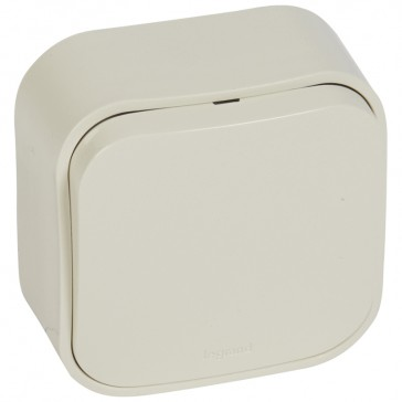 One-way switch Forix - surface mounting - IP2X - 10 AX 250 V~ - ivory