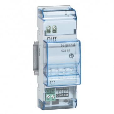 SCS-SCS gateway, extension for MyHOME_Up installation - 2 DIN modules