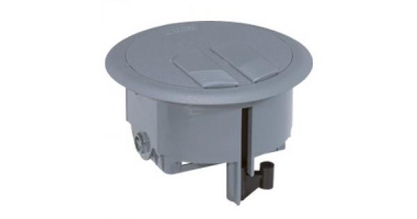 Floor Service Outlet Box 3 Modules 0 896 44 Legrand