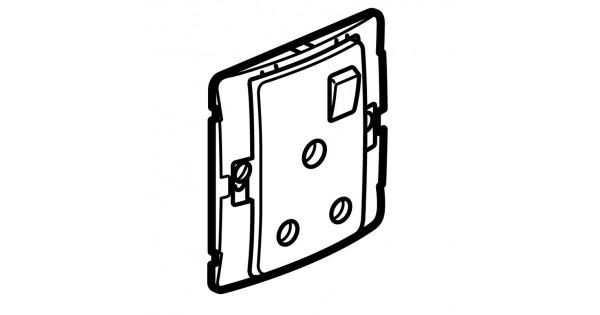 socket outlet mallia - switched - 1 gang