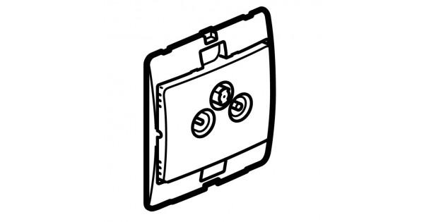 tv-r-sat socket mallia - pearl - tv-r-sat sockets