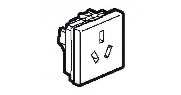socket arteor - chinese - 10 a - 2p e shuttered