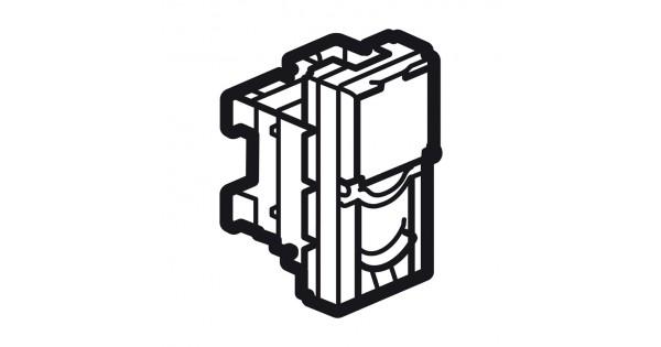 rj45 socket arteor - category 6a utp - 1 module