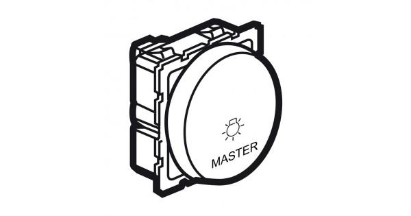 master push-button arteor for lighting control