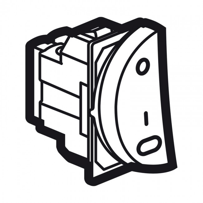 double pole switch arteor