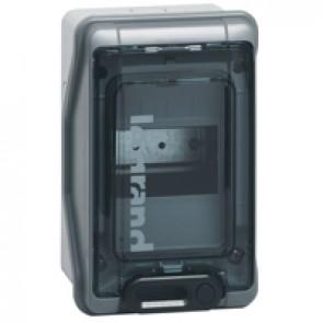 Cabinets PLEXO³ - IP65 - IK09 - 4 modules - 1 row