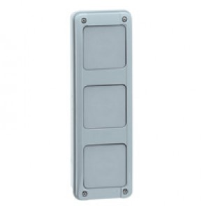 Multifunction sleeve - vertical - for 2 rows cabinets