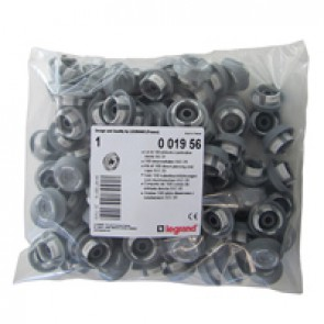 Pack of 100 Ø20 mm ISO end caps for Plexo³ cabinets