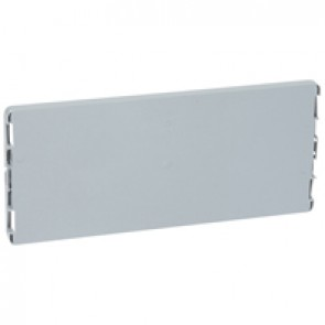 Plain faceplate - for PLEXO³ cabinets - for 12 modules cabinets