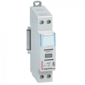 Multifunction remote control dimmer - for dimmable LEDs and CFLs - 1 module