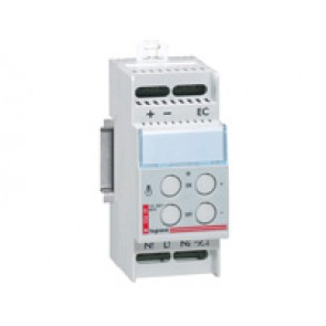 Dimmer - for incadescent/halogen lamp 230 V~ - load 60 to 600 W- 2 modules