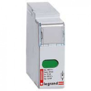 Plug-in replacement modules - for voltage surge protector Cat.Nos 039 35/36/38 - with indicator