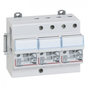 Self-protected SPD - for consumer unit - T2 - Imax 12 kA/pole - 3P+N left