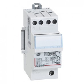 Self-protected SPD - for secondary distribution board - T2 -Imax 12 kA/pole -1P+N left