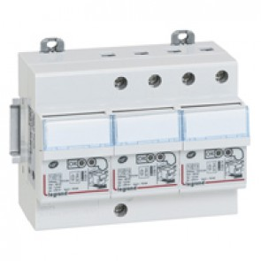 Self-protected SPD - for secondary distribution board - T2 -Imax 12 kA/pole -3P+N left