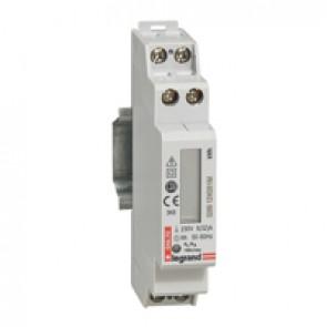 Single-phase meter EMDX³ - non-MID - 32 A - pulse output - 1 module