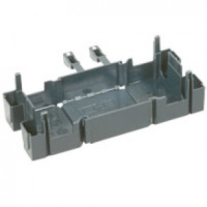 Insulating unit - for Mosaic supports - for flexible cover DLP trunking - 2 modules