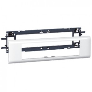 Mosaic support - for flexible cover DLP trunking cover depth 65 mm - 8 modules
