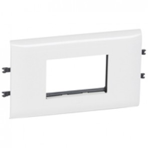 Mosaic support - for flexible cover DLP trunking cover depth 85 mm - 3 modules