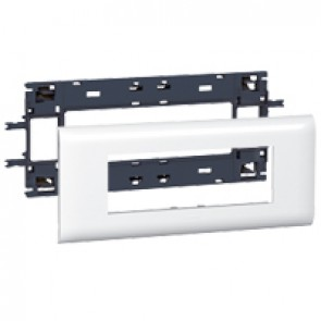 Mosaic support - for flexible cover DLP trunking cover depth 85 mm - 6 modules