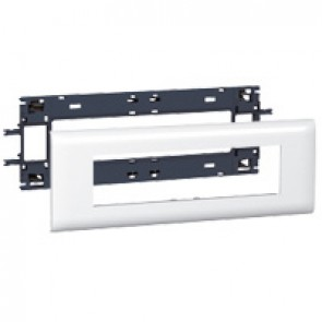 Mosaic support - for flexible cover DLP trunking cover depth 85 mm - 8 modules