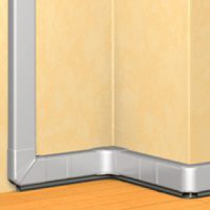DLP Alu trunking - 50 x 105 - 2 m - supplied without cover - cover 85 mm