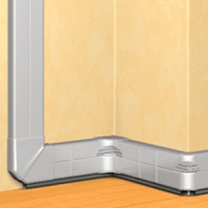 DLP Alu trunking - 65 x 150 - 2 m - supplied without cover
