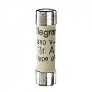 Domestic cartridge fuse - cylindrical type gG 8 x 32 - 1 A - without indicator
