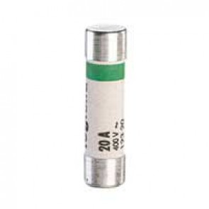 Domestic cartridge fuse - cylindrical type 8.5 x 31.5 - 20 A - without indicator