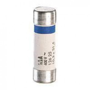 Domestic cartridge fuse - cylindrical type 10.3 x 31.5 - 25 A - with indicator