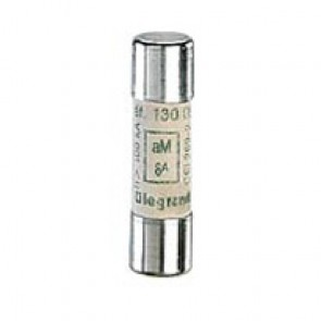 HRC cartridge fuse - cylindrical type aM 10 x 38 - 2 A - without indicator