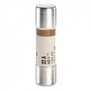 Domestic cartridge fuse - cylindrical type 10.3 x 38 - 32 A - without indicator