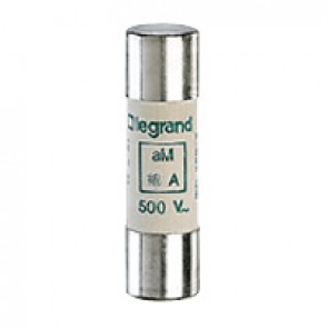 HRC cartridge fuse - cylindrical type aM 14 X 51 - 20 A - without indicator
