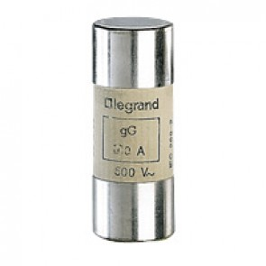 HRC cartridge fuse - cylindrical type gG 22 X 58 - 16 A - without indicator