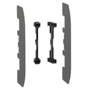 Separation divider for base for blade type cartridge fuse - size 1/2