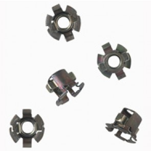 Clip nuts - for M6 screws Cat.No 0 200 91