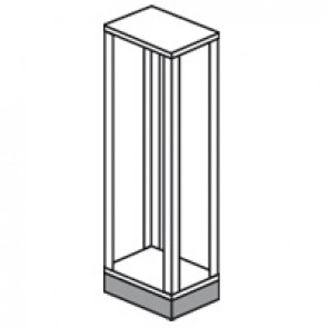 Plinth XL³ 4000 - height 100 mm - 475x475 mm