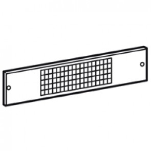 Ventilation panel XL³ 4000 - for plinth width 725 mm