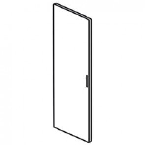 Reversible curved metal door XL³ 4000 - width 725 mm - Height 2000 mm